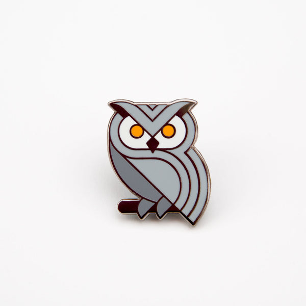 Owl Pin Badge #1