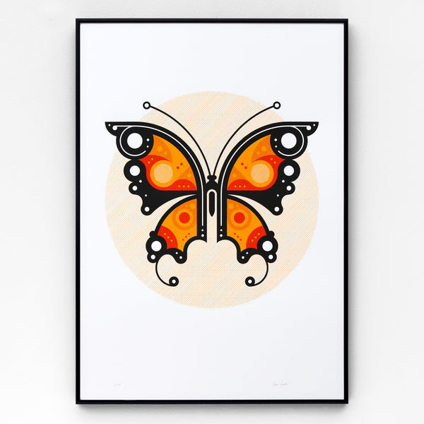 Butterfly #1 Screen Print