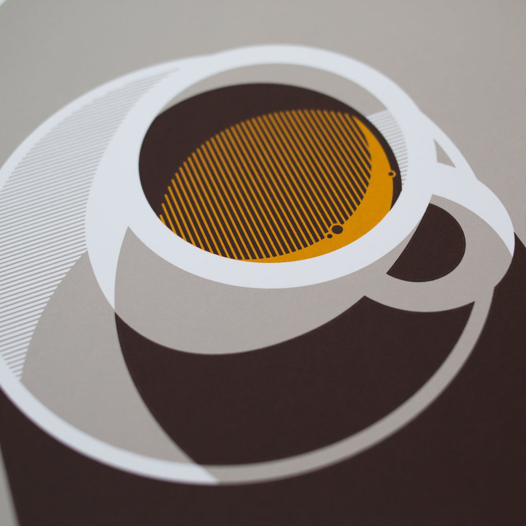 Espresso Screen Print