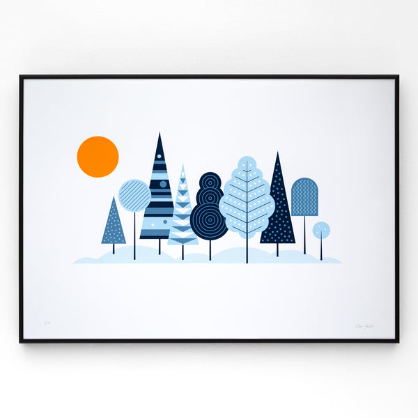 Woodland Screen Print