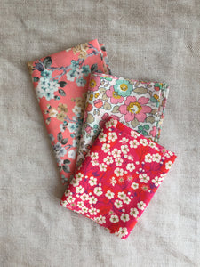 2. Liberty Fabric Scrap packs