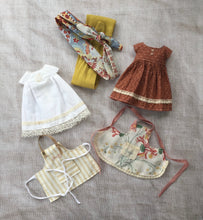 Load image into Gallery viewer, Moshi-Moshi Sewing Class 13 - Apron Dress Sets A4