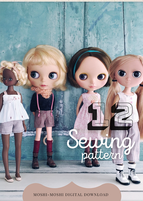 Moshi-Moshi Sewing Class 12 - Summer Wardrobe A4