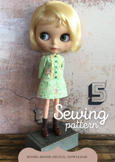 Moshi Moshi Sewing Class 5 - Shrimpton dress