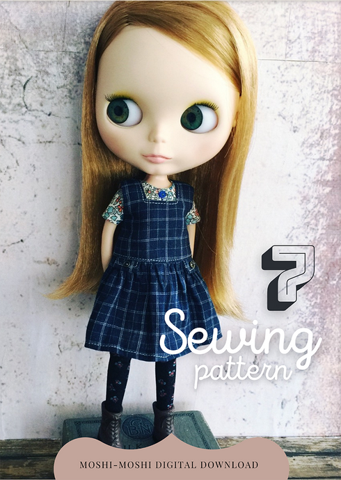 Moshi Moshi Sewing Class 7 - Pinafore Dress