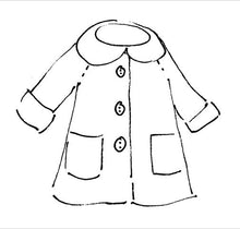 Load image into Gallery viewer, Moshi Moshi Sewing Pattern 6 - Peacoat