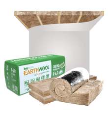 Earthwool Ceiling Roof Insulation Batts - Buy Online