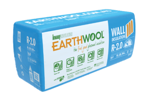 Earthwool Internal Wall Insulation - Thermal & Acoustic Comfort - Buy Online at Ecolife Solutions