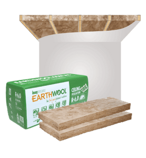 Ceiling Insulation Batts by Earthwool - Buy Online at Ecolife Solutions