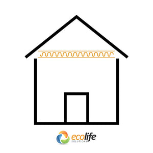 Ceiling Insulation Application - Buy Online at Ecolife Solutions