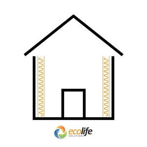 Earthwool Wall Insulation Application - Buy Online at Ecolife Solutions
