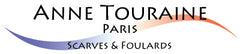 NNE TOURAINE Paris™ luxury silk scarves: logo
