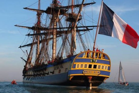 The Hermione ship reaches New York on July 4th