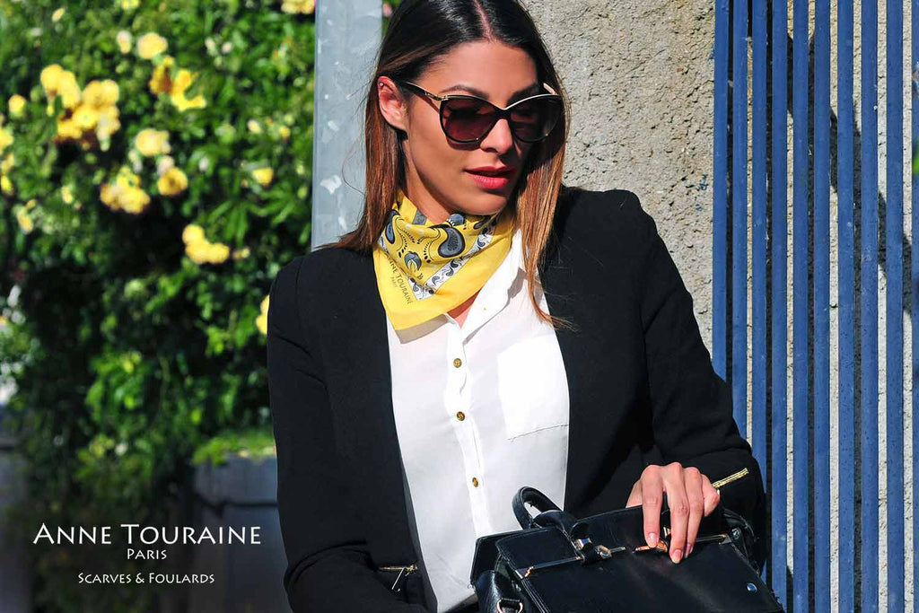 bandana-bandanas-silk-cotton-kerchief-kerchiefs-yellow-luxury-scarves-scarf-neck-scarves-french-luxury-summer-paisley-anne-touraine-paris (19)