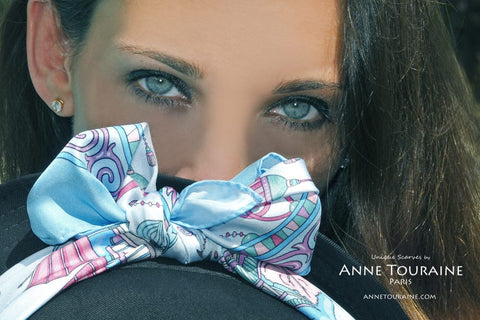 How to choose the color of your silk scarves by ANNE TOURAINE Paris™
