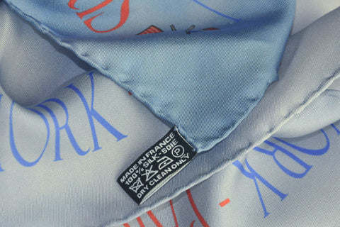 Hand rolled hem on fine silk scarves: ANNE TOURAINE Paris™ signature!