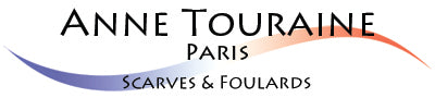 logo anne touraine french silk scarves and foulards