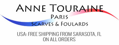 ANNE TOURAINE Paris™ Scarves & Foulards