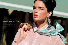ANNE TOURAINE Paris™ luxury silk scarves: for scarf connoisseurs only