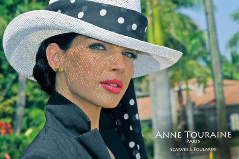 Trendy summer accessories; panama hats and scarves