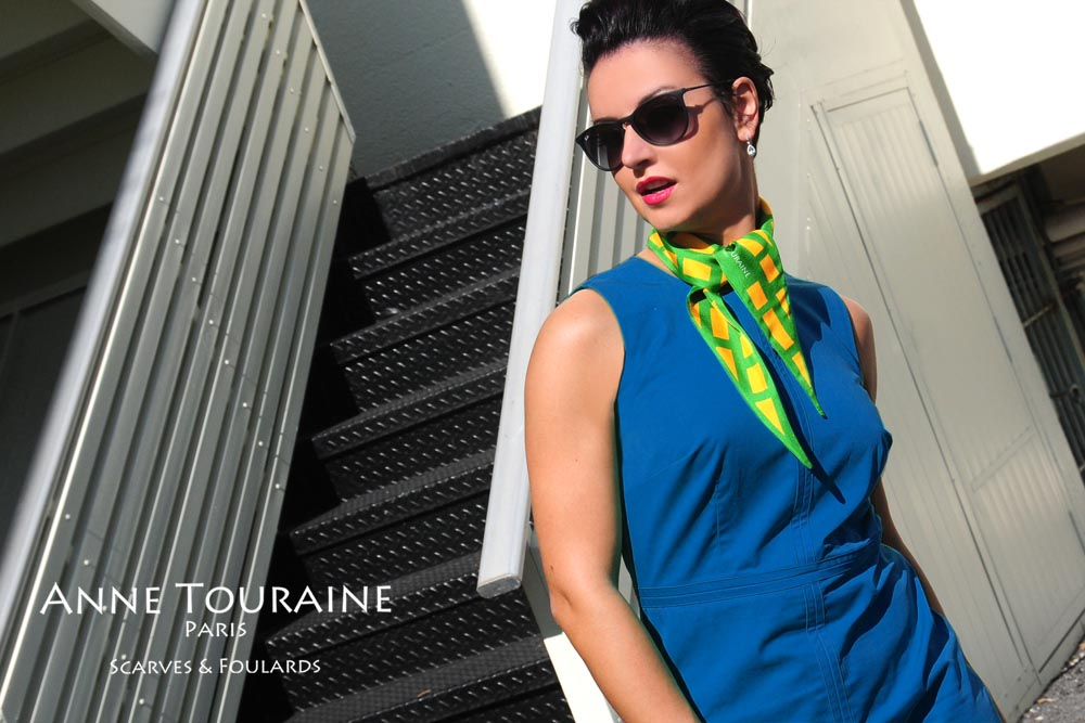 Silk twillies by ANNE TOURAINE Paris™: you cannot go wrong with a classic neckwear
