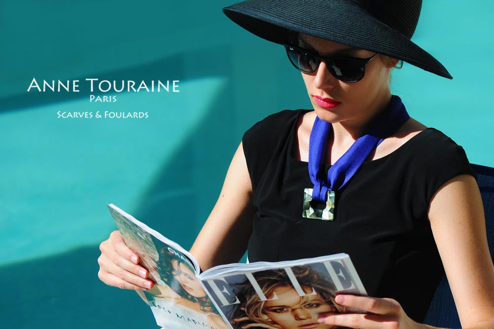 Silk twillies by ANNE TOURAINE Paris™:glamour time!