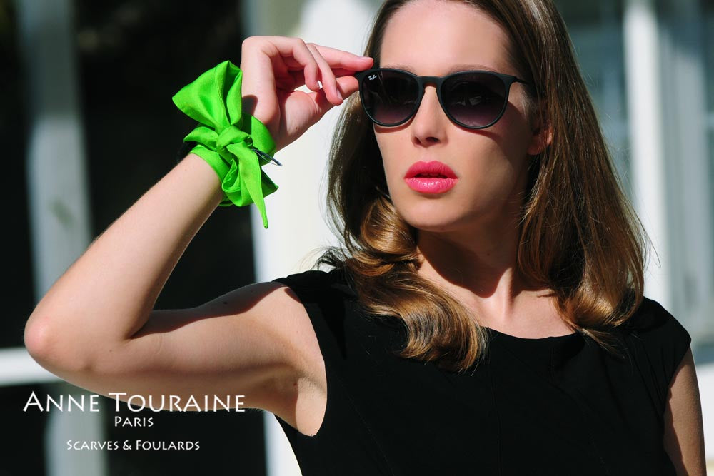 Silk twillies by ANNE TOURAINE Paris™: think silky bracelet!