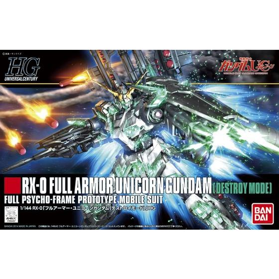 HGUC 1/144 #178 Full Armor Unicorn Gundam (Destroy Mode)