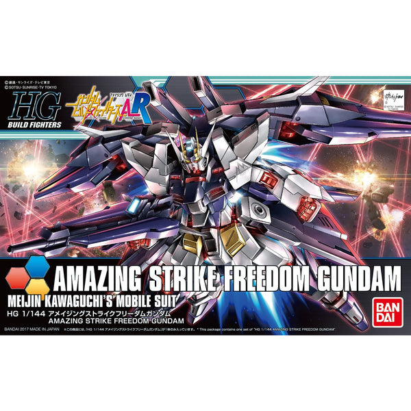 HGBF 1/144 #53 Amazing Strike Freedom Gundam