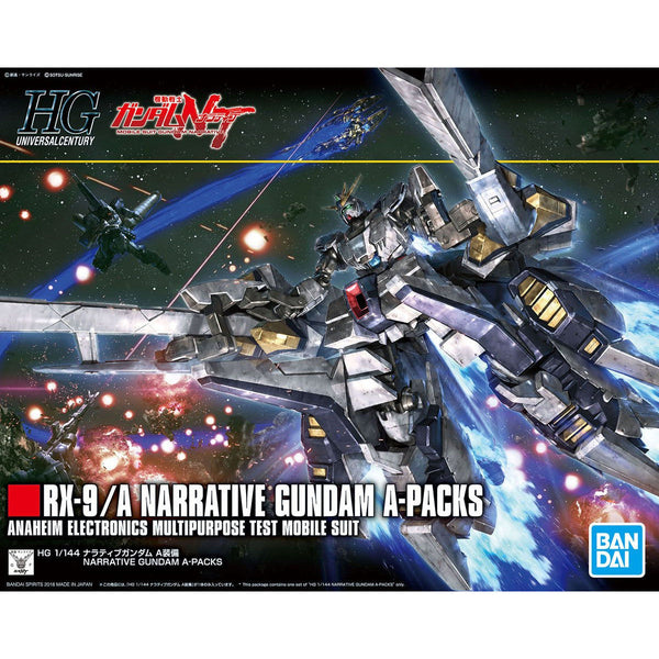 HGUC 1/144 #218 RX-9/A Narrative Gundam A-Packs