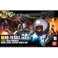 HGUC 1/144 #114 Rb-79 Ball Twin Set