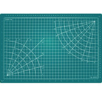 "Excel Self Healing Cutting Mat Green 12""x 18"""