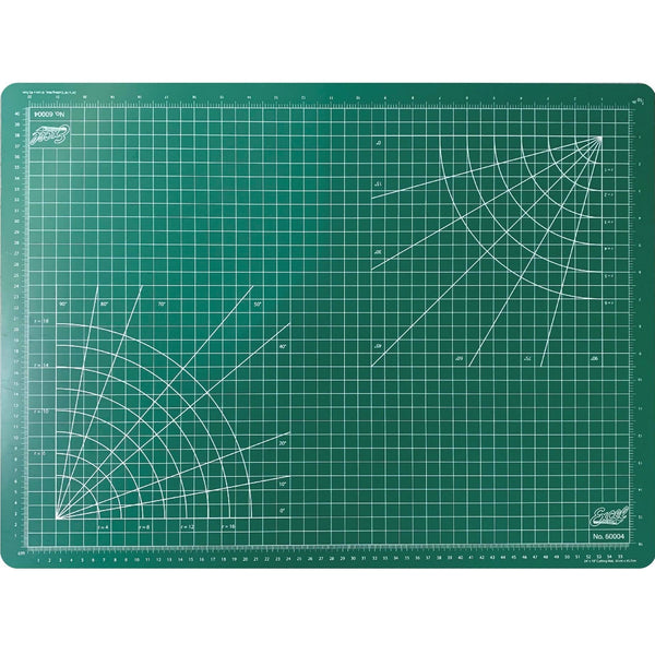 "Excel Self Healing Cutting Mat Green 18""x24"""