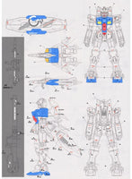 Delpi Decal - MG RX-78 GP03S Stamen WATER DECAL