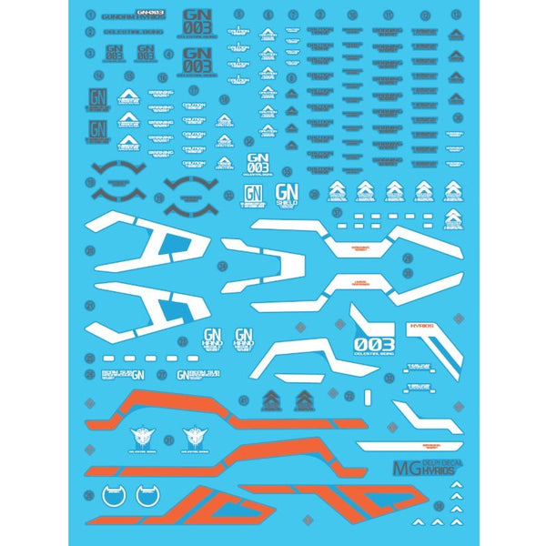 Delpi Decal - MG KYRIOS WATER DECAL