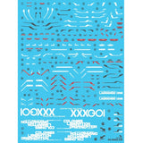 Delpi Decal - RG WING EW WATER DECAL