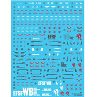 Delpi Decal - MG RX-78-2 The Origin WATER DECAL