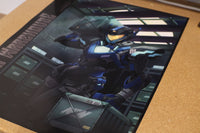 "Mecha Warehouse ""A Night at the Warehouse"" 18x24"" Poster"