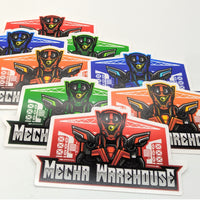 Mecha Warehouse Sticker