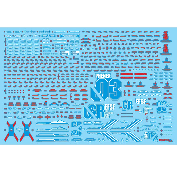 Delpi Decal - MG PHENEX ORIGINAL WATER DECAL (Available Narrative)