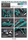 Madworks - AW9 Etching Parts for HGUC ARX-014 Silver Bullet/AMX-014 Doven Wolf
