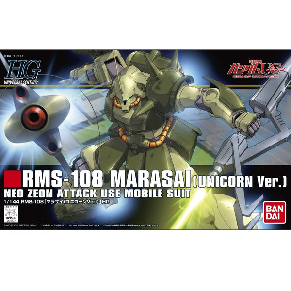 HGUC 1/144 #138 Marasai (Unicorn Version)