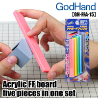 GodHand Acrylic FF Board, set of 5