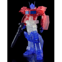 Flame Toys Optimus Prime (IDW Version) [CLEAR EVENT EXCLUSIVE]