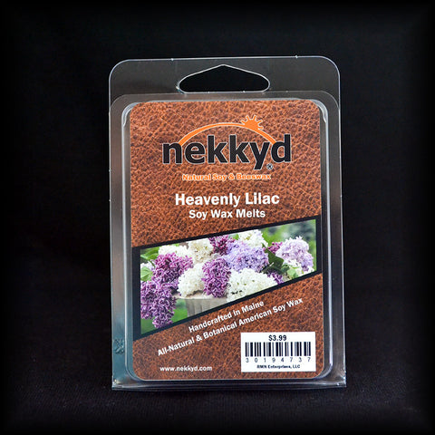 Heavenly Lilac Soy Wax Melt - nekkyd - Natural Soy, Hemp and Beeswax Products
