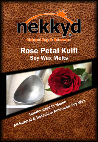 Rose Petal Kulfi Soy Wax Melt