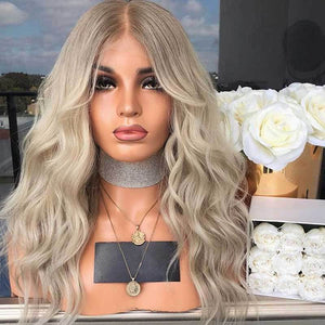 Blonde Glamorous Natural Long Wig