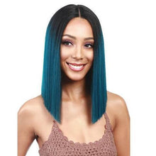 Load image into Gallery viewer, Malachite green Party straight wig