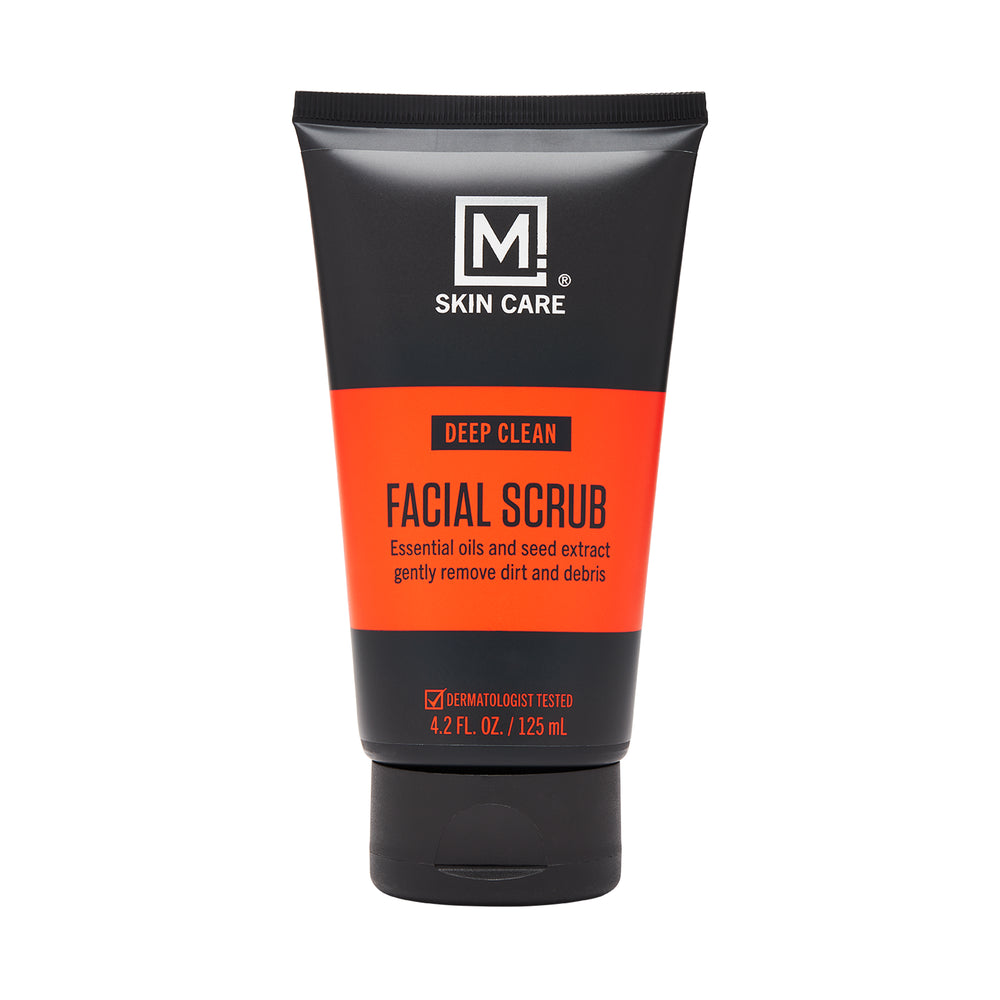 m skin care facial scrub