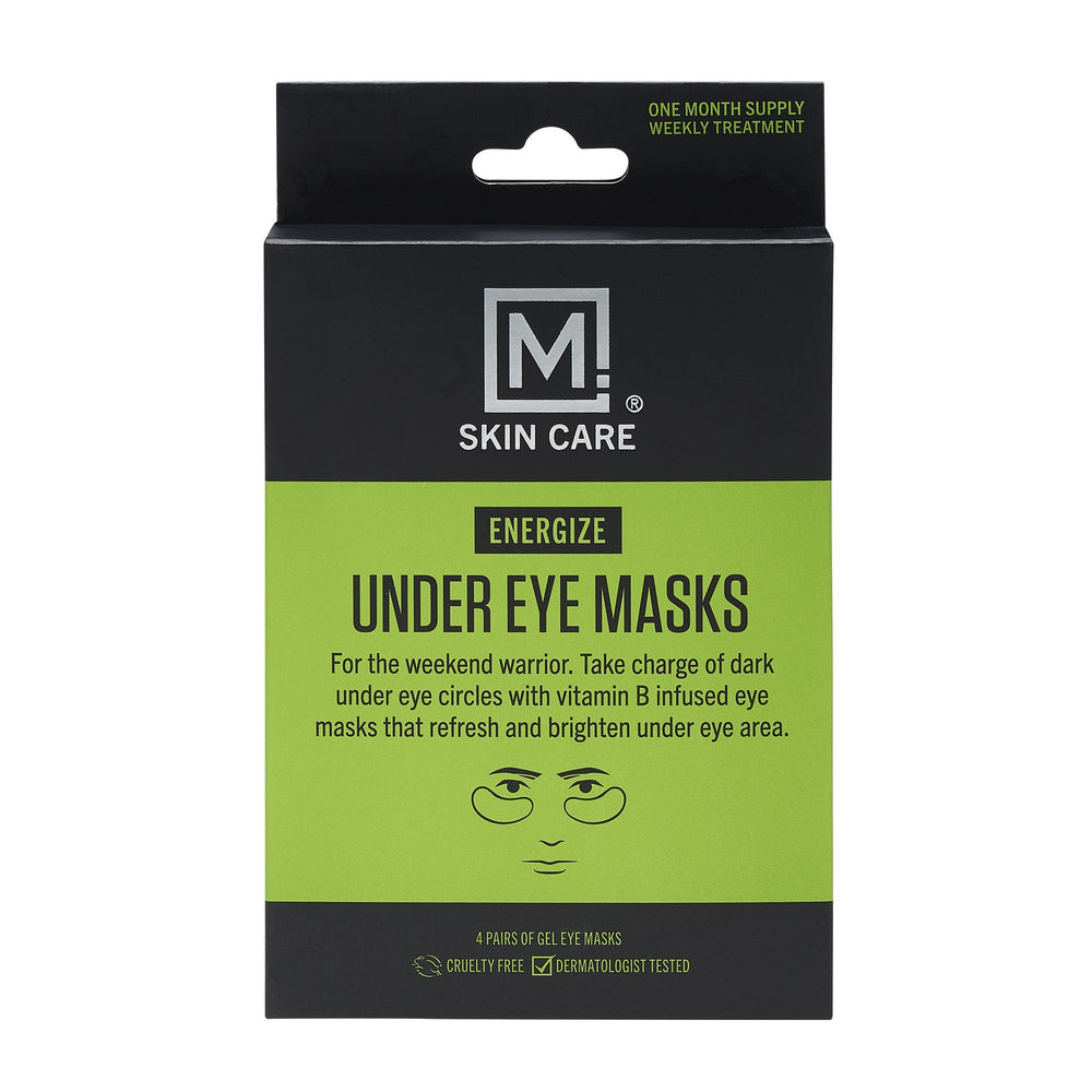 M. Skin Care Energize Under Eye Masks (4 Pack)